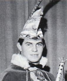 1964 - 1965 Prins Huub d'n Urste (Huub Thijssen)